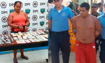 Con drogas capturan a dos personas en Islas de la Bahía