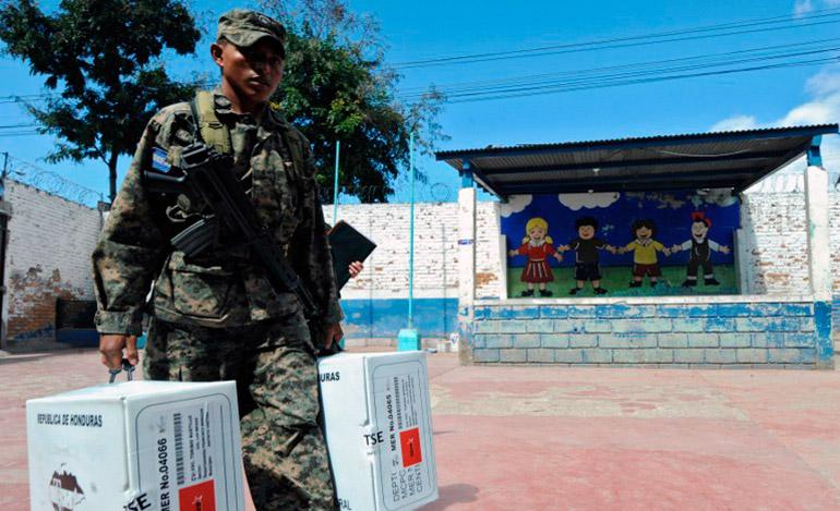 La única intervención de los militares en las elecciones será conforme a la Constitución de la República.