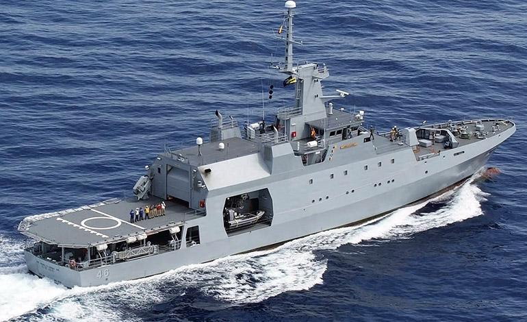 Una embarcación de estas tendrá la Fuerza Naval de Honduras (FNH) en los próximos 18 meses.