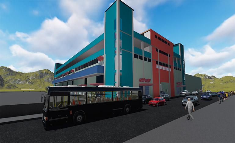 Se readecuará el mercado San Isidro, para incentivar a los comerciantes y atraer a los capitalinos.