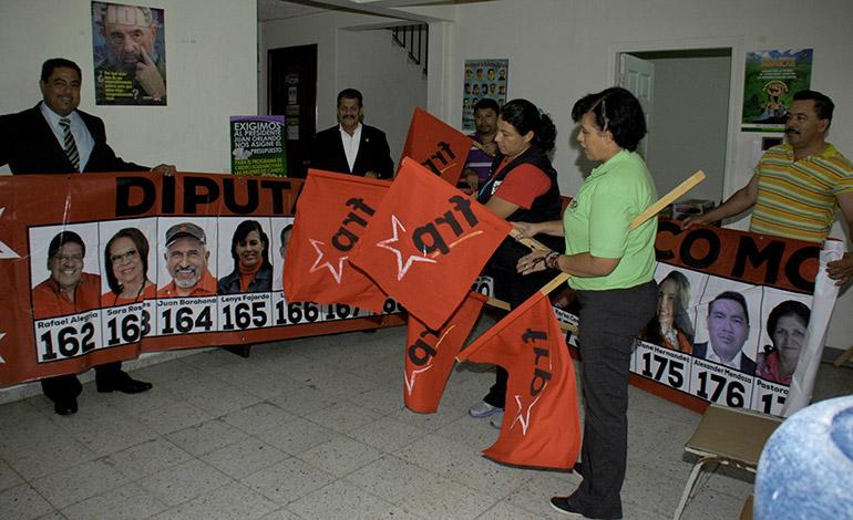 Los nueve movimientos de Libre, entre ellos el FRP, ya están listos para comenzar a pedir el voto.