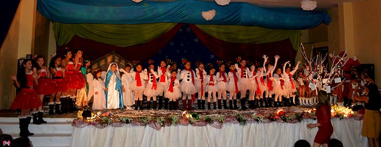 Cuadro infantil de la Casa de la Cultura.