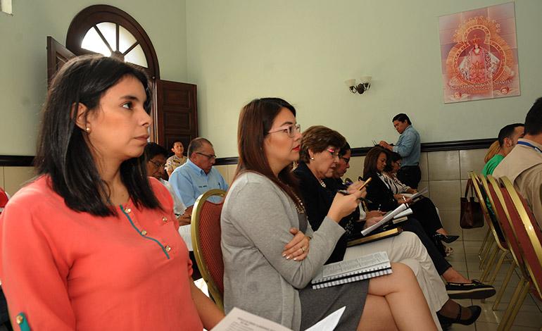 Las autoridades de Conapremm iniciaron ayer las reuniones preparativas para la feria de la Virgen de Suyapa.