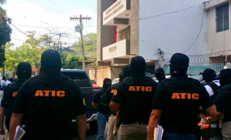 A mediados del 2016, la Agencia Técnica de Investigación Criminal (ATIC) intervino la DIECP en busca de los informes de los policías para iniciar una investigación propia.
