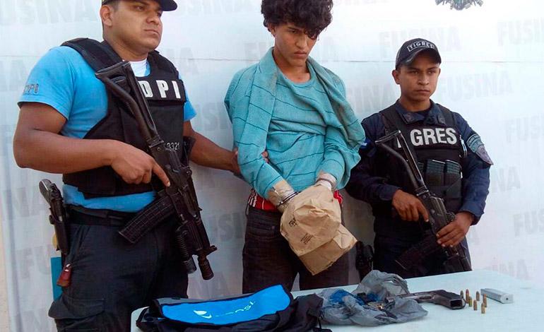 Jafet Amed Mejía Carrasco fue arrestado como sospechoso de haber acabado con la existencia de la comerciante.