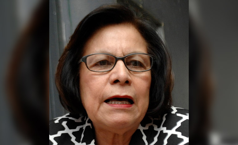Elia Del Cid: Viceministra de asuntos pedagógicos.