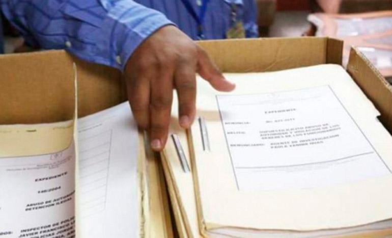 La DIECP solo envió documentos sin sustento probatorio de enriquecimiento, asegura el Tribunal.