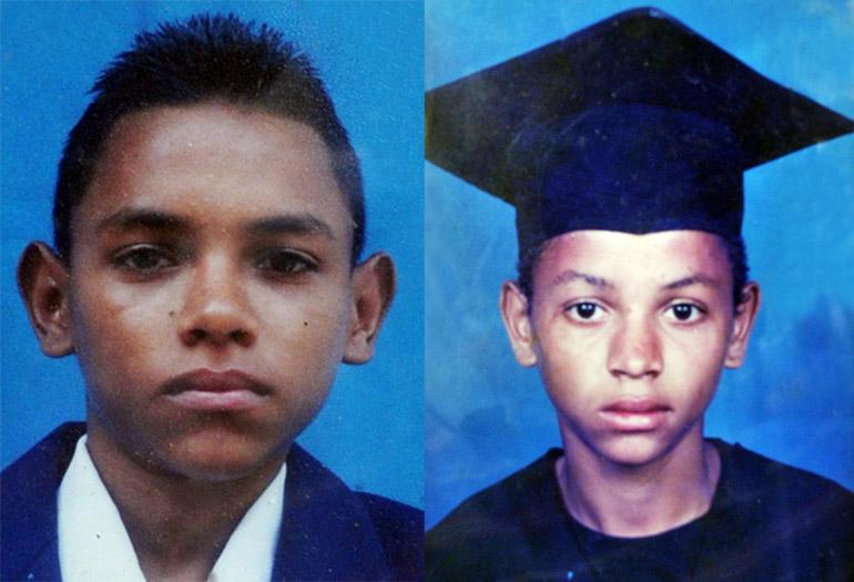 Melvin Jonathan Isaula y Ober Danilo Isaula.