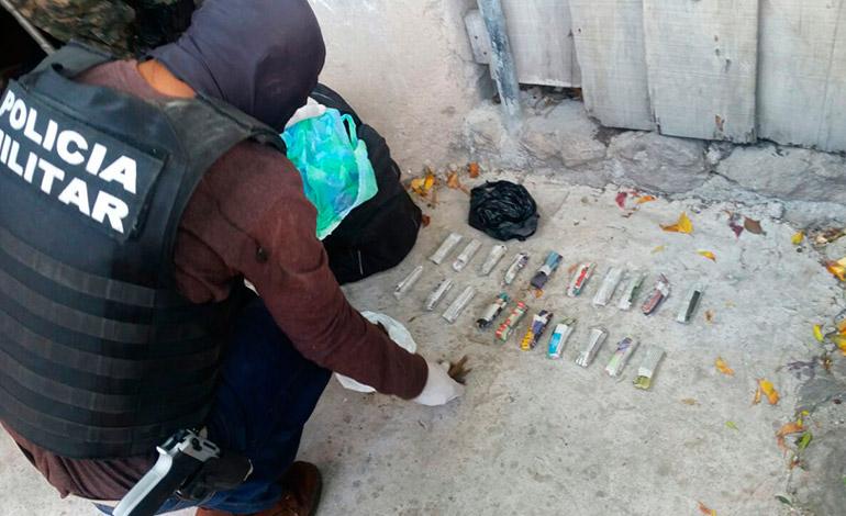 La desarticulación de centros de distribuidores de drogas era uno de los objetivos durante las celebraciones del tercer año de Fusina.