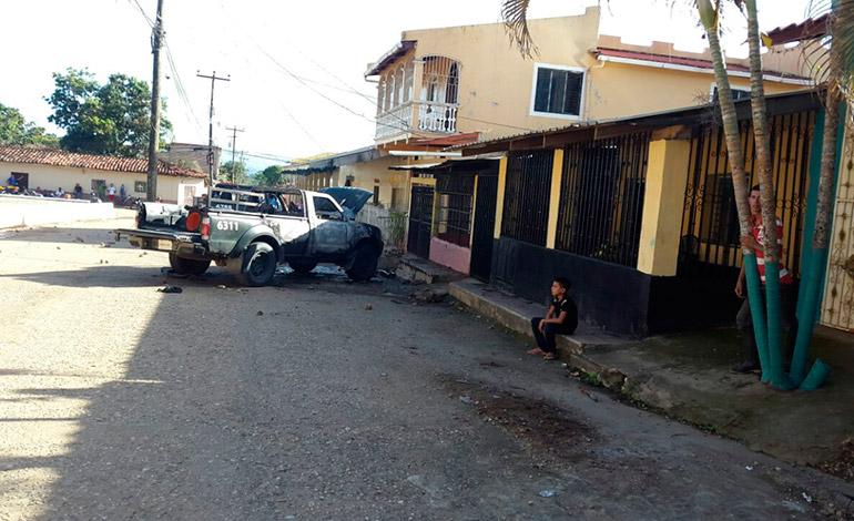 Los disturbios en el municipio de Olancho sucedieron porque un policía militar le quitó la vida a uno de los residentes.