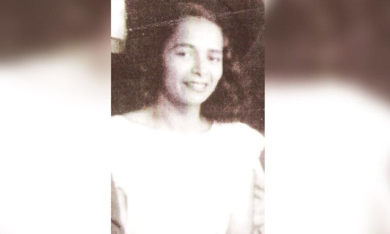 "Cristina Rubio la primera locutora hondureña, la inolvidable ""Copitos de Nieve"". (1948)"