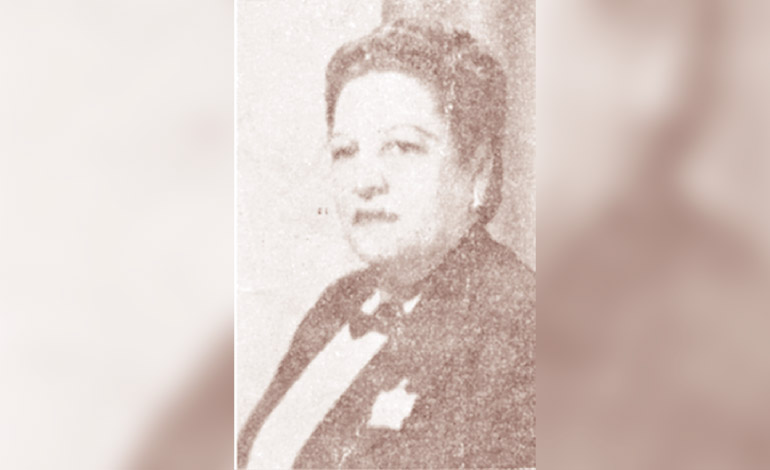 Carmen Meléndez de Cálix Oliva (Nacionalista) Diputada por Atlántida en 1957.