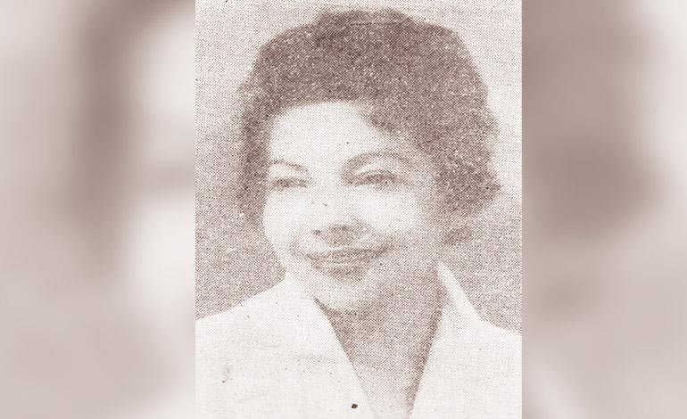 Doña Carmen Griffin de Lefebre diputada liberal en 1957.