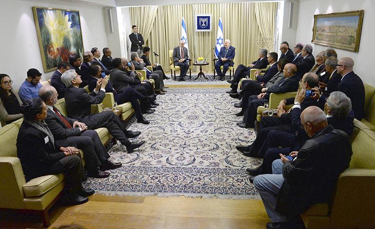 El primer ministro de Israel prometió fortalecer la relación con las universidades hondureñas.
