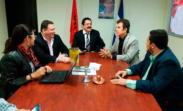 La alianza opositora se ha planteado entre Libre, el PAC y el Pinu.