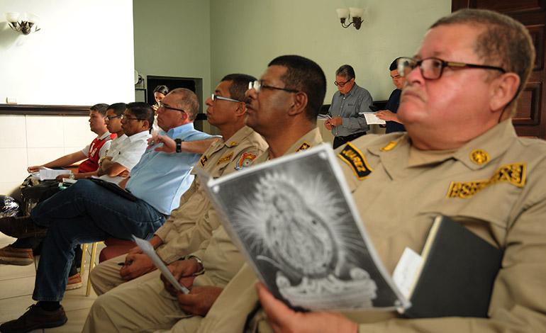 El Cuerpo de Bomberos se unirá a las actividades para brindar seguridad a los miles de feligreses que visitarán la basílica.