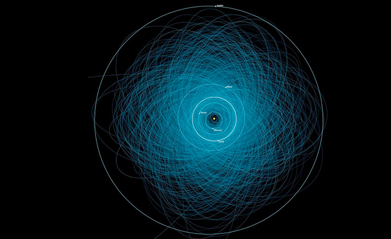 tierra-asteroides-orbitando