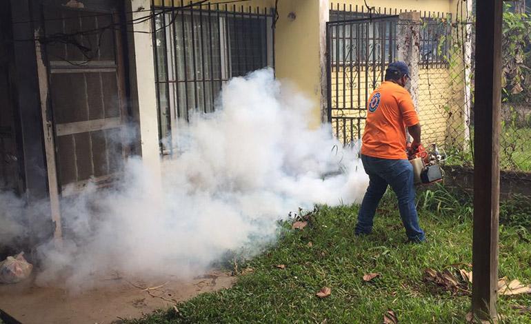 Las instalaciones de la UNA fueron fumigadas para evitar contagio de enfermedades trasmitidas por zancudos.