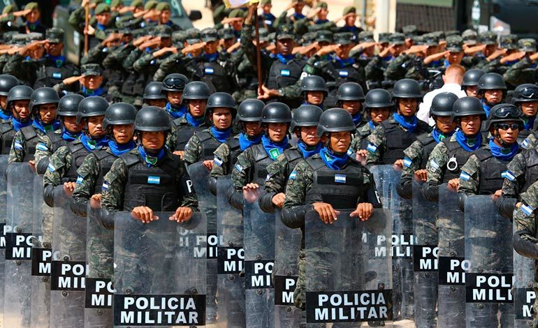 Honduras está posicionada como líder regional en combate a la inseguridad
