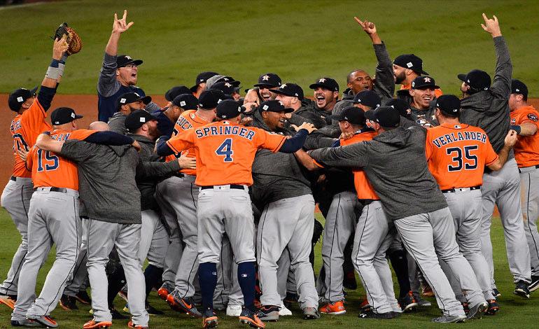 Astros campeones de la Serie Mundial a costa de los Dodgers