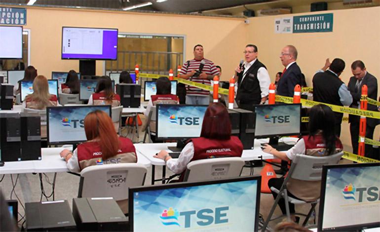 Siga el avance de resultados a nivel presidencial del TSE