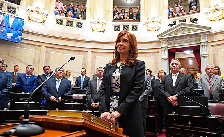 Expresidenta argentina apela su procesamiento por encubrimiento