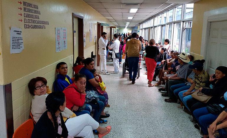 En el Hospital Escuela se normalizan consultas