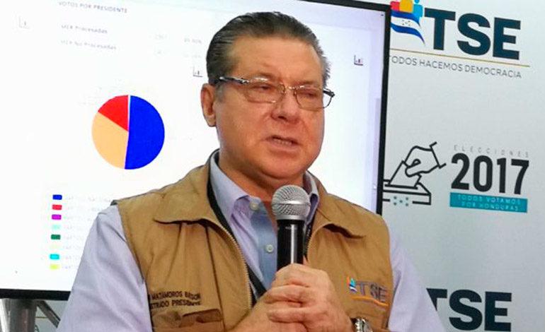 """David Matamoros: """"Se tendrá un resultado que lo podrá comprobar el pueblo de Honduras"""""""