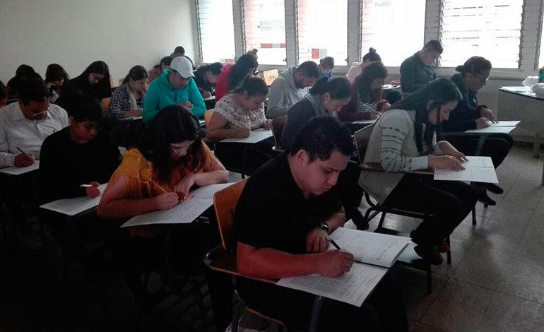 Más de cinco mil aspirantes realizan examen de admisión