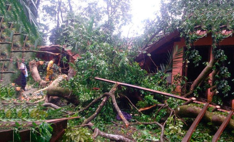 Fuertes vientos provocan muertes en Centroamérica