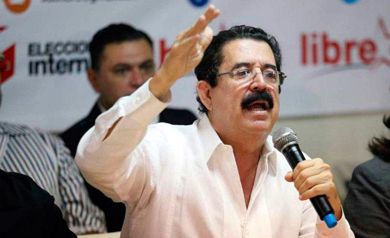 """EE UU tiene injerencia en Honduras: """"Mel"""""""