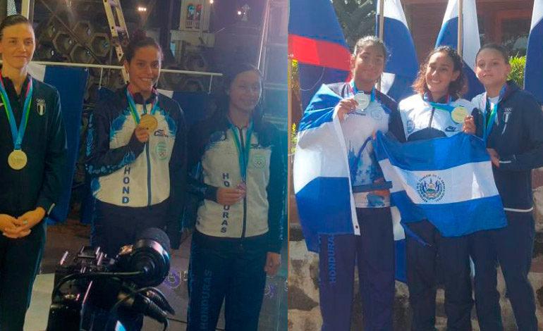 Muchas medallas conquistó Honduras en la natación