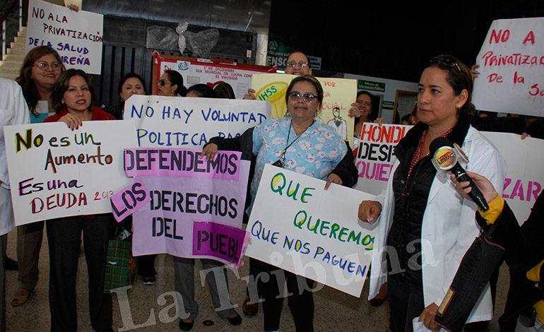 STSS: Junta Interventora y médicos del IHSS deben continuar el diálogo