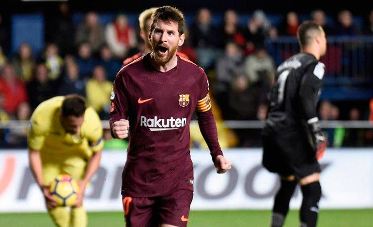 Messi sigue como máximo goleador de LaLiga