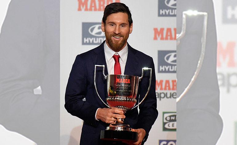 """Messi: """"Mi objetivo no son los premios, sino lograr títulos"""""""