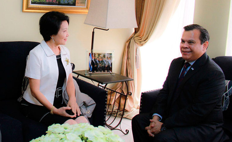Taiwán refuerza su amistad y lazos comerciales con Honduras
