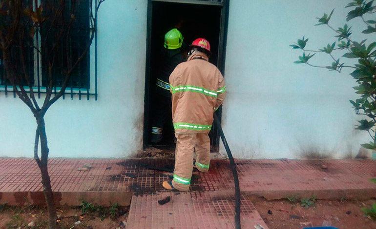 Queman oficinas de empresa de energía en Catacamas, Olancho