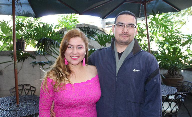 Jimena Bonilla y Jeremías Velásquez.