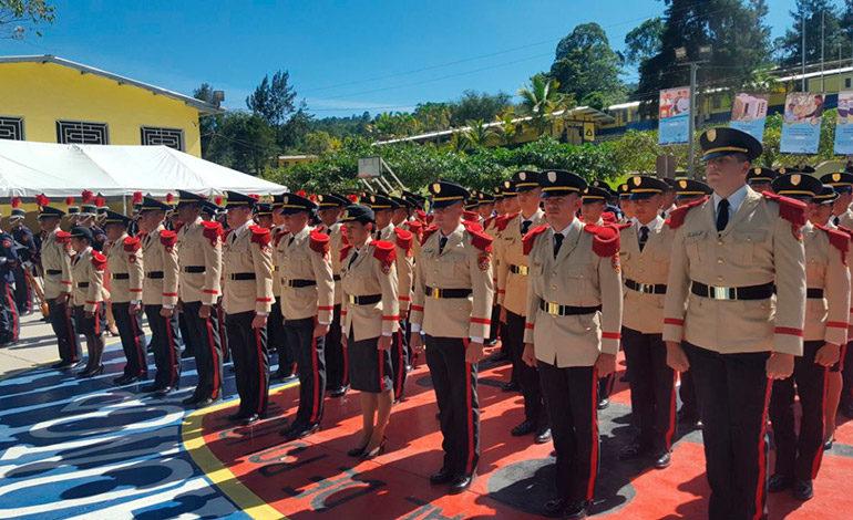 Policía Nacional: Ascendidos 167 nuevos  oficiales en graduaciones