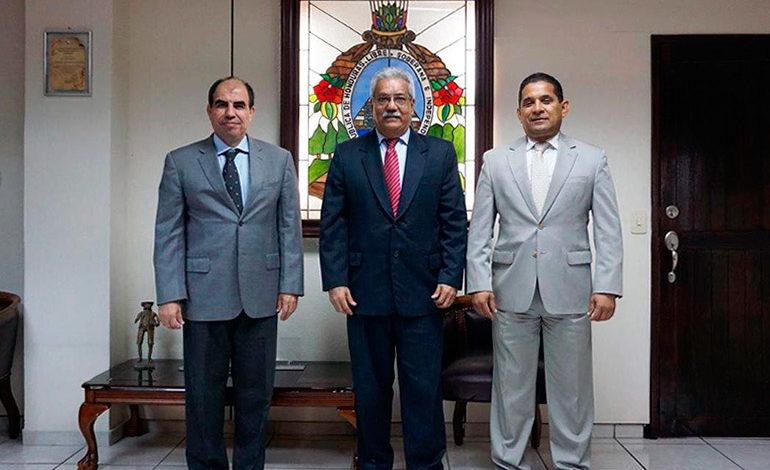 Ricardo Rodríguez asume la presidencia del TSC