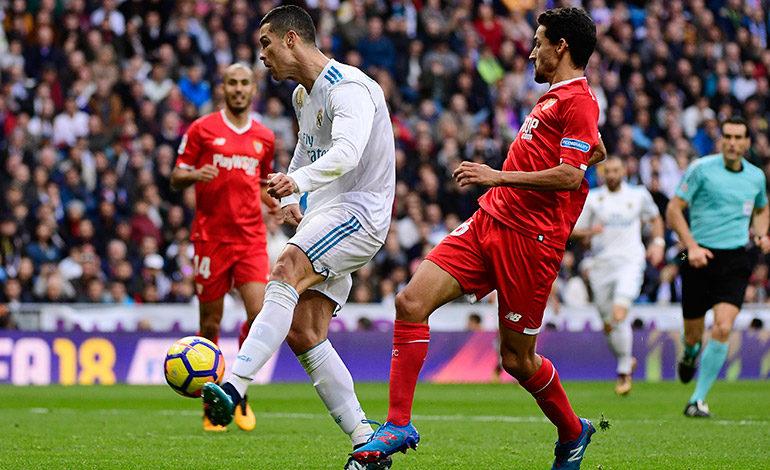 Real Madrid se da un festín frente al Sevilla