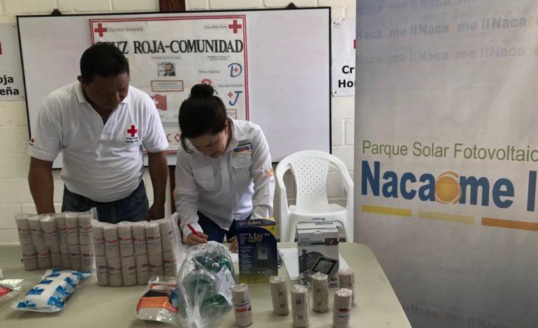 Nacaome II entrega importante donativo a la Cruz Roja de Nacaome