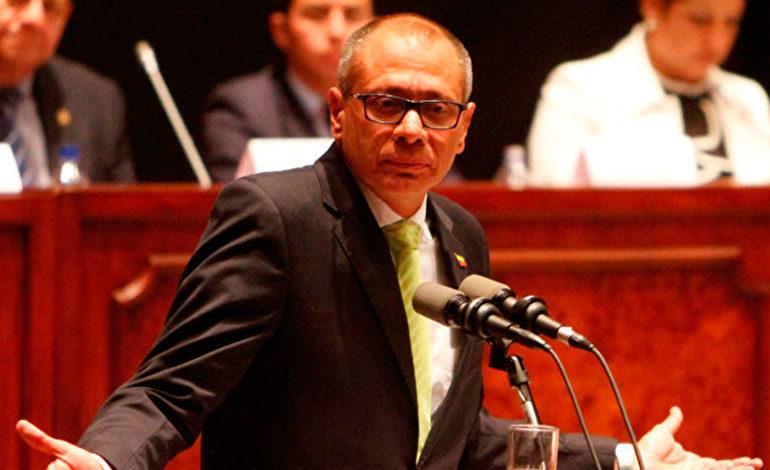 Justicia define suerte del vicepresidente de Ecuador por caso Odebrecht