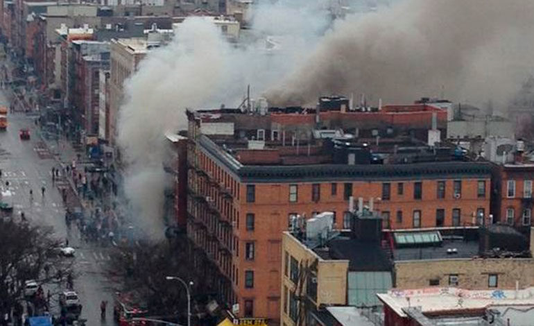 Varios heridos en una explosión en Nueva York