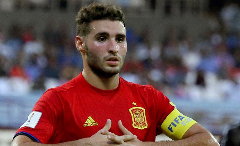 El delantero español Abel Ruiz ha destacado en el Mundial sub-17. EFE/Prakash Elamakkara