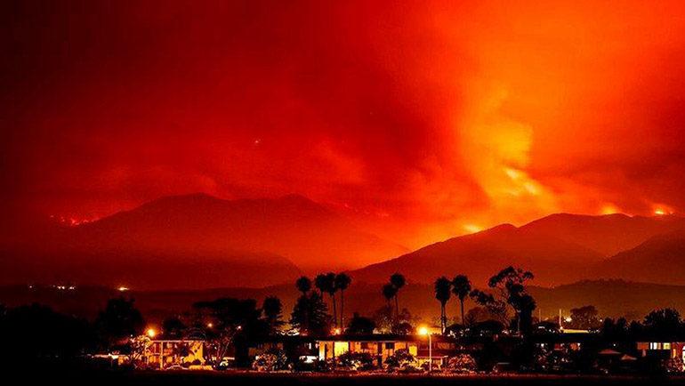 Las cifras abrumadoras de los incendios en California