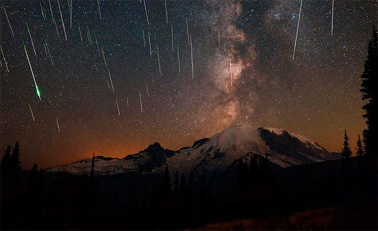 ¡Esta noche! Lluvia de estrellas se podrá ver a simple vista el fenómeno