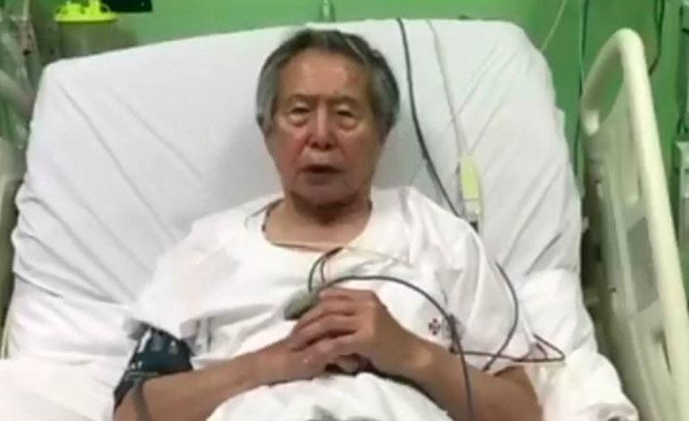 Fujimori es ingresado a clínica tras anulación de su indulto