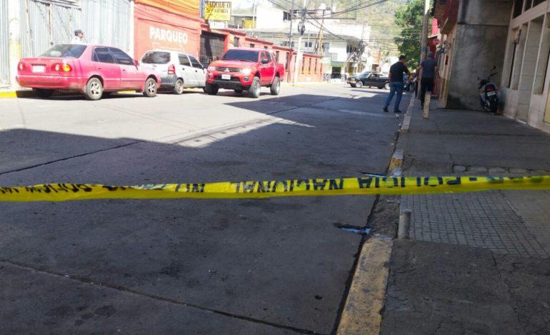 Dos personas heridas durante tiroteo en Comayagüela