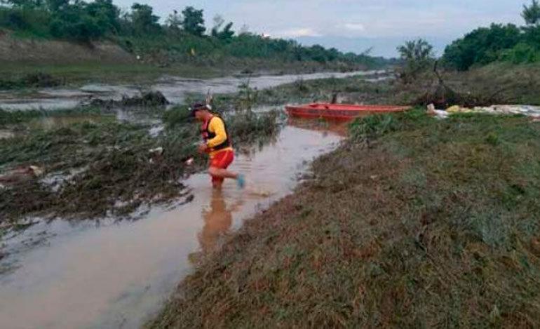 Cuerpo de Bomberos rescatan cadáver de hombre que se ahogó en el Canal Maya